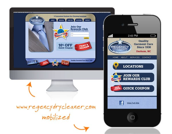 mobile website, The Marketing Machine